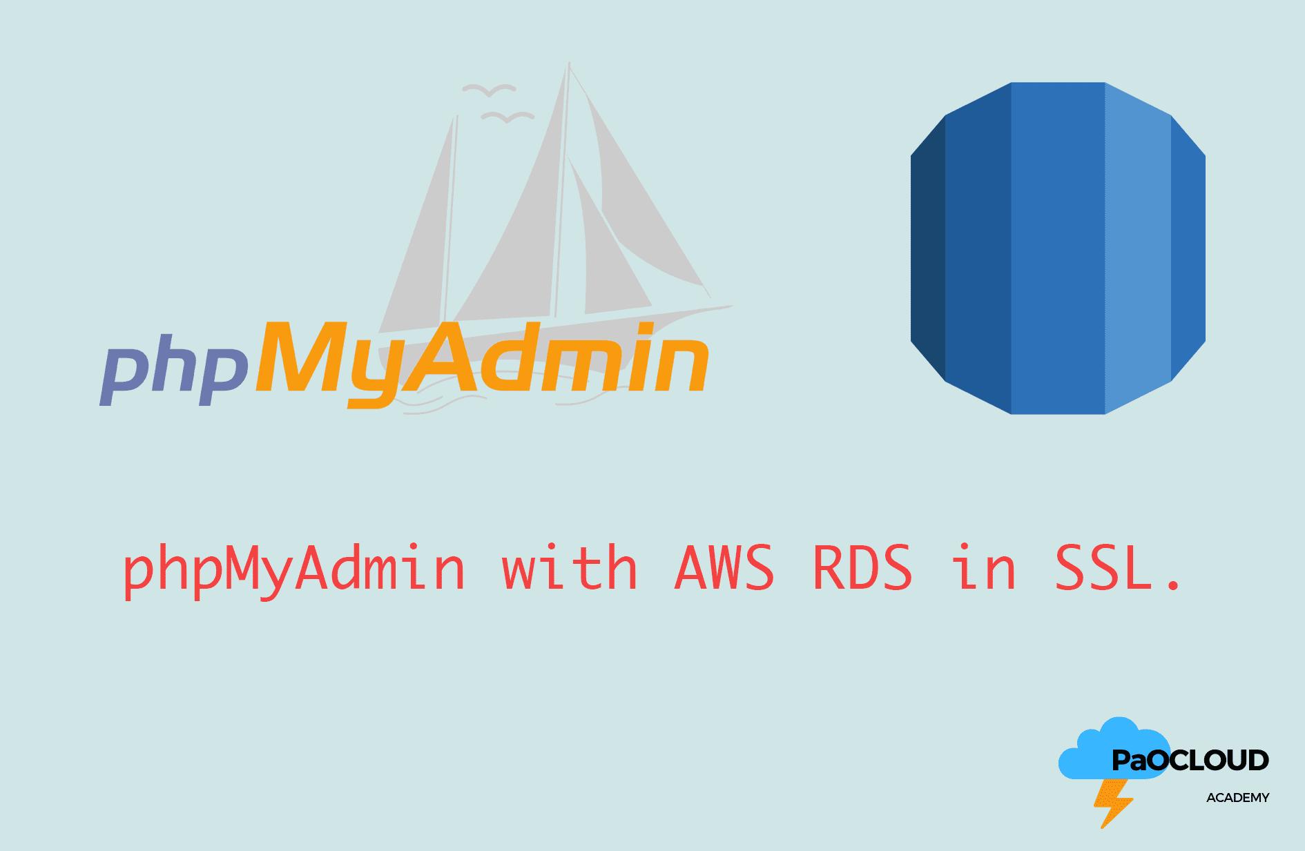 phpMyadmin-RDS-SSL